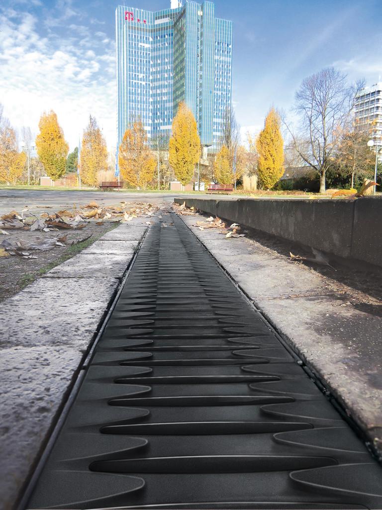 نمونه گریتینگ کامپوزیتی در فضاهای شهری